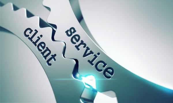 Service Client on the Mechanism of Metal Cogwheels.